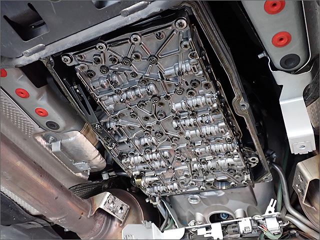 メルセデスベンツE63AMGのバルブボディ