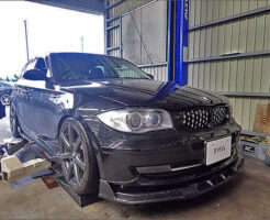 BMW1シリーズ(E87)トルコン太郎でATF圧送交換+エアコンガスクリーニング