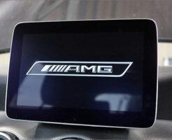 メルセデスベンツGLA220メーターのAMG化・コマンドモニターもデザイン変更