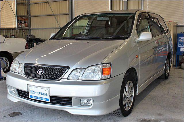 14年式 トヨタ ガイア 後期モデル 純正ナビ付き 走行70000キロ