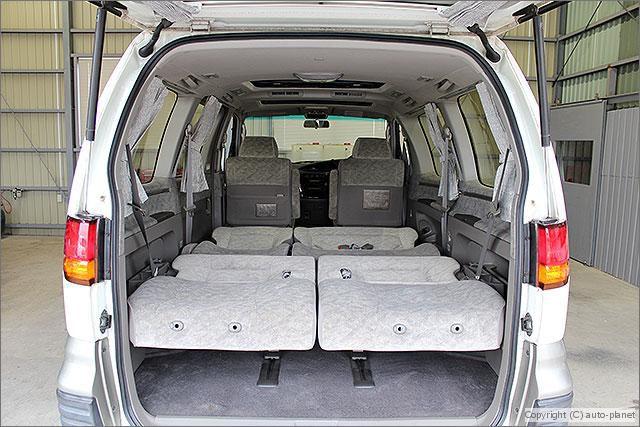どぷですか?車内泊も余裕でできる広さです!