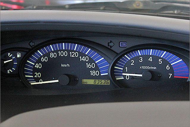 当店では、走行距離管理システムを導入しています、あんしんの実走行です。