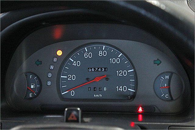 走行距離管理システムを導入済、あんしんの実走行です