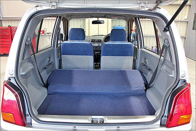 運転しやすく、荷台スペースの大きいお車です。