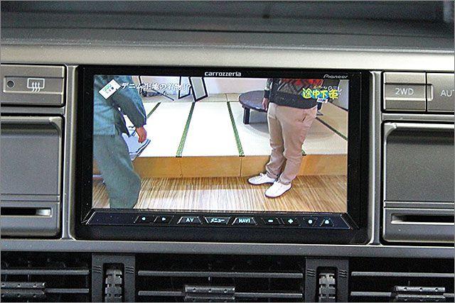 フルセグTV、DVDビデオ、CDラジオが使用できます。