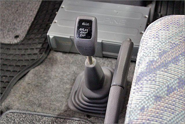 パートタイム式4WDです。