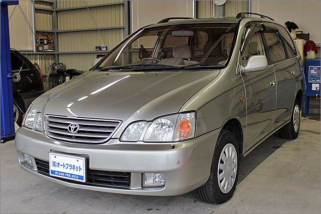 トヨタ ガイア 4WD Lパッケージ 純正ナビ ETC付。