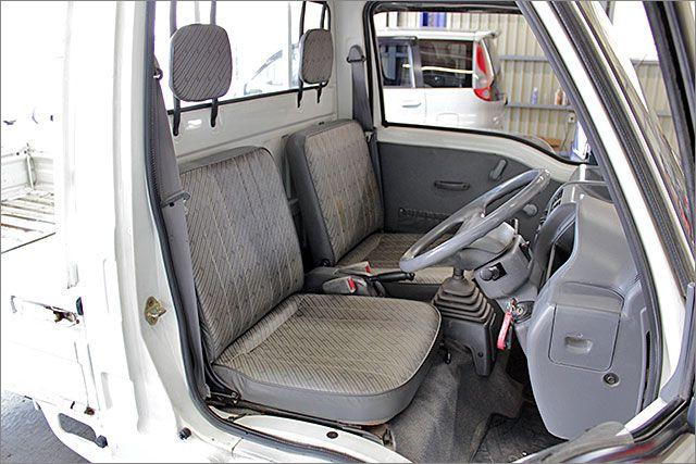 商用車のわりにきれいに使用されていたお車です。