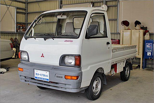 ミツビシ ミニキャブトラック 4WD。