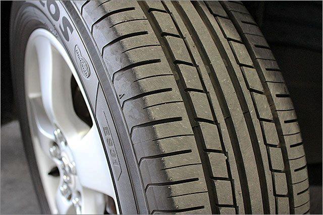 タイヤはほぼ新品状態です。