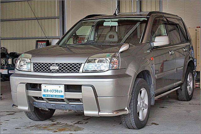 ニッサン エクストレイル エアロ 4WD。