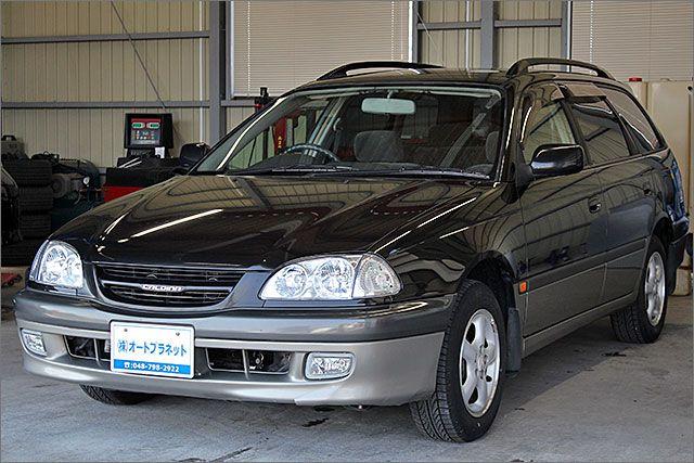 トヨタ カルディナ 2.0G ETC アルミ付。