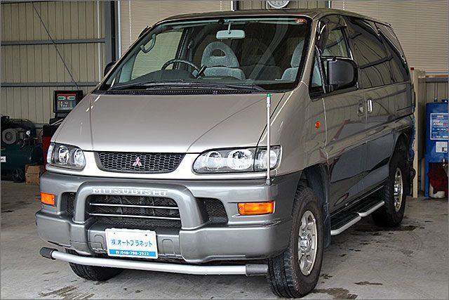 ミツビシ デリカスペースギア 4WD ETC付。