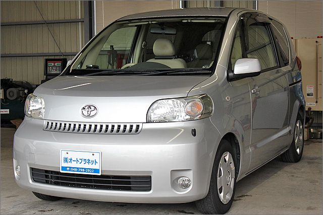 トヨタ ポルテ 150R DVDナビ リヤモニター パワースライドドア キーレス。