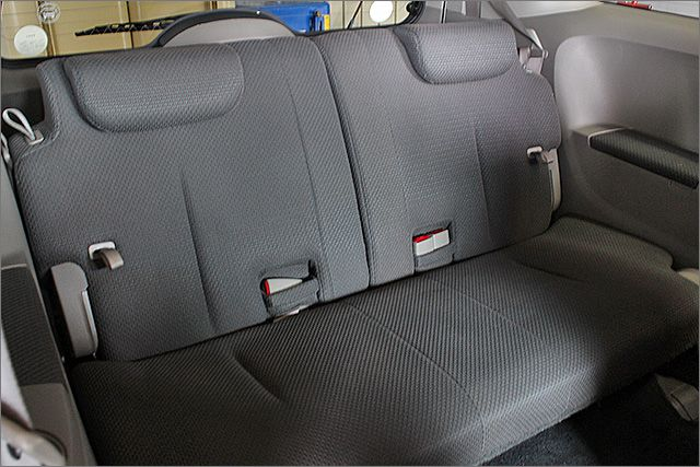 シートに汚れはありません。