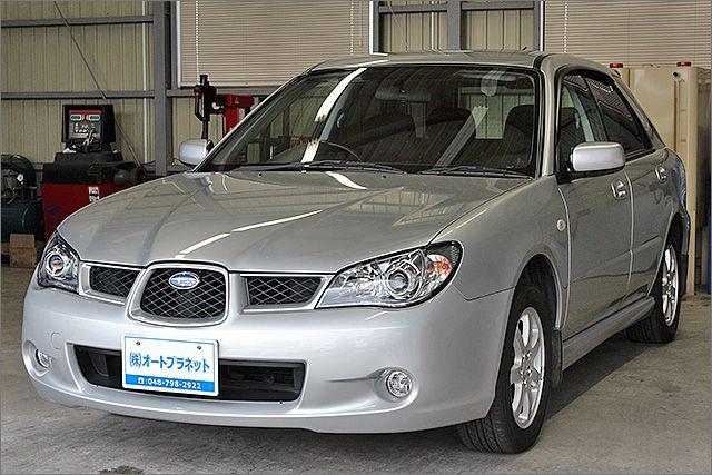 程度良好・車検整備付のインプレッサスポーツワゴンです。装備は純正アルミ、HDDナビ、CD、キーレス付きです。