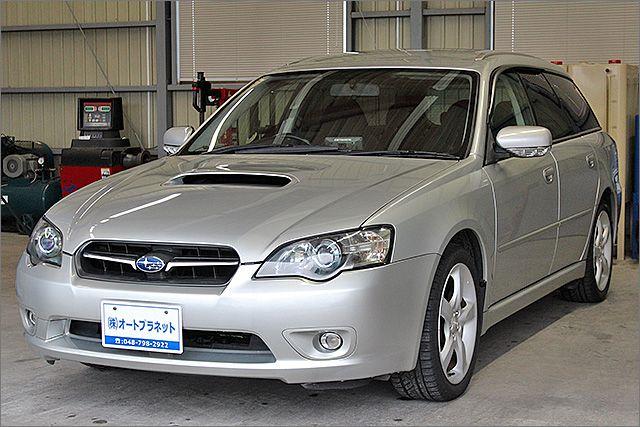 程度良好・車検整備付のレガシーツーリングワゴンです。装備は純正17インチアルミ、HIDライト、DVDナビ、CD/MD、ETC、キーレス付きになります。