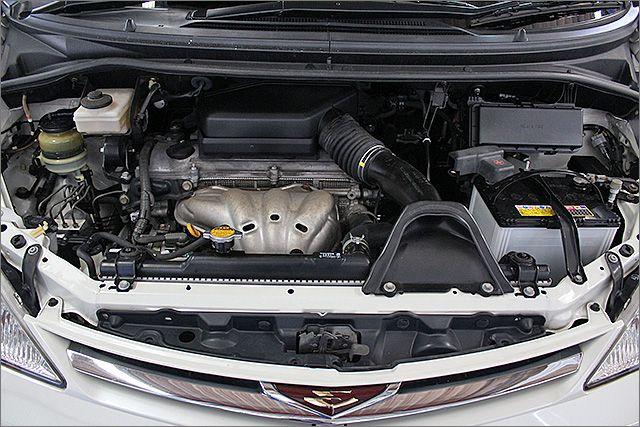 エンジン、ミッション良好・オイル漏れもございません。タイミングチェーン方式です、10万キロごとの交換の必要はありません。