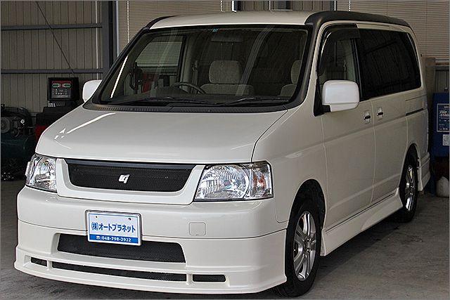 程度良好・車検整備付のステップワゴンです。装備は純正エアロ・アルミ、HIDライト、DVDナビ、後席モニター、CD/MD、ETC、バックカメラ、キーレス付きになります。