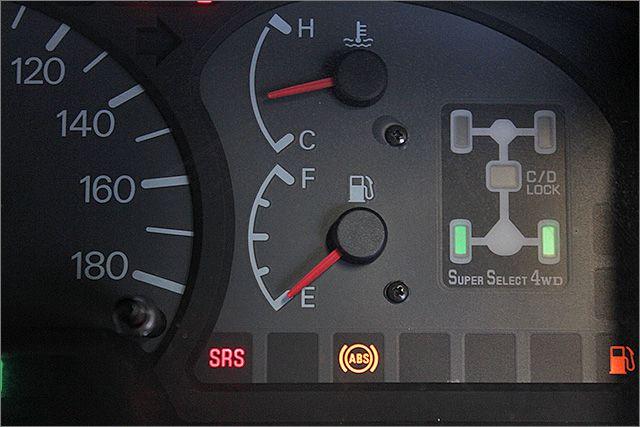 緊急回避で事故防止に繋がるABS付きです。