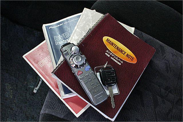 お車の操作方法や、トラブル回避方法が記載されているため、意外と役に立ちます。
