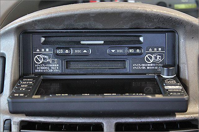 CD、MD、ラジオがご使用できます。