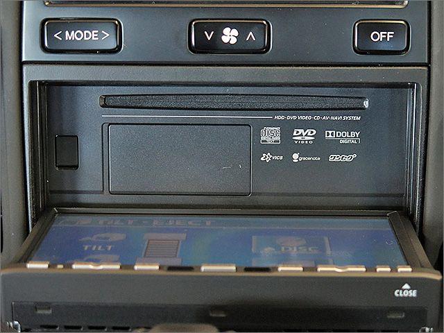 DVD、CD、ラジオがご使用できます。