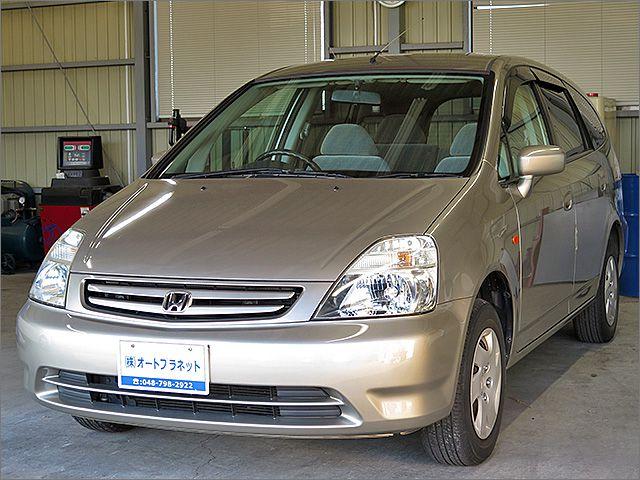 程度良好・車検整備付のストリーム4WD車です。装備はDVDナビ、CD、MD、ETC、キーレス付きになります。