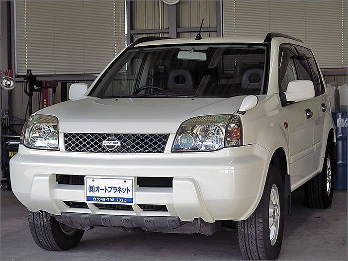 程度良好・車検整備付の4WDのエクストレイルです。装備はHDDナビ、CD、ETC、アルミ、HIDライト付きになります。