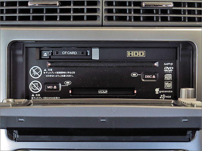 CDとラジオが使用できます。