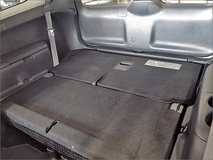 3列目のシートは収納することもできます。