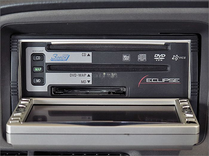 CD、ラジオが使用できます。NDは動作不良のため使用できません。