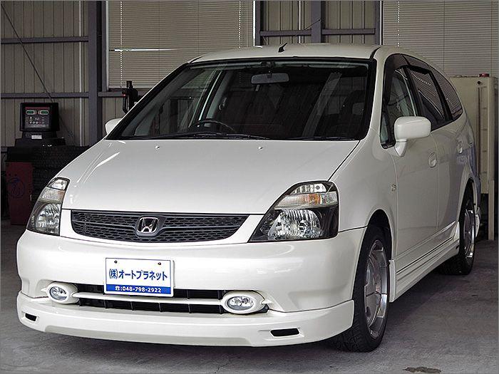 程度良好・車検整備付のストリームです。装備はHDDナビ、CD、MD、ETC、キーレス、エアロ、アルミ、HIDライト付きになります。