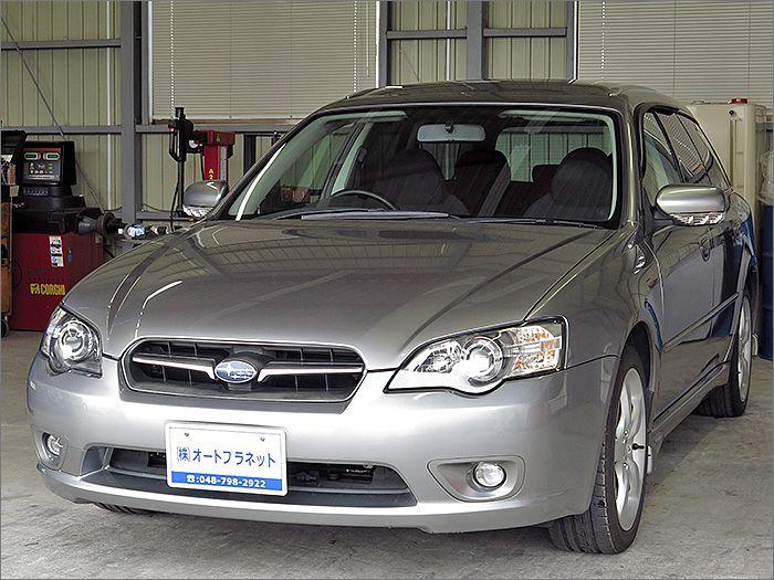 程度良好・車検整備付のレガシーツーリングワゴンです。装備はDVDナビ、CD、MD、ETC、キーレス、アルミ、HIDライト付き。