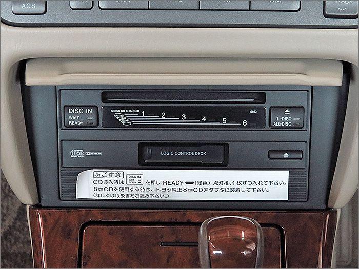CDは動作不良で使用できません。