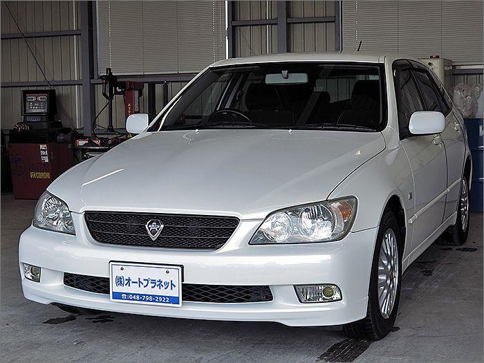車両状態良好のアルテッツァジータ・AS200ワイズセレクション2です。
