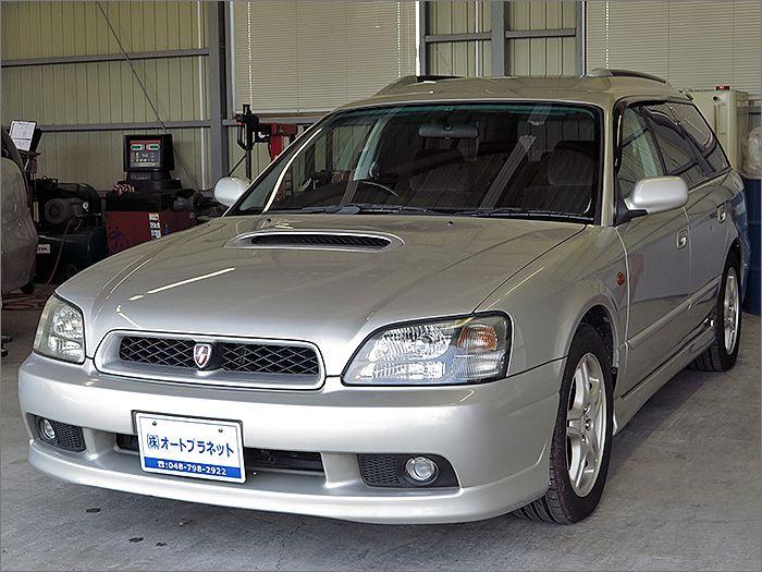 車両状態良好のレガシーツーリングワゴンです。装備はCD、キーレス、エアロ、アルミ、HIDライト付き。