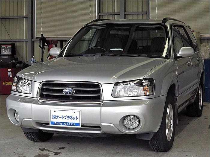 車両状態良好のフォレスターです。装備はDVDナビ、CD、ETC、アルミ、HIDライト付き。