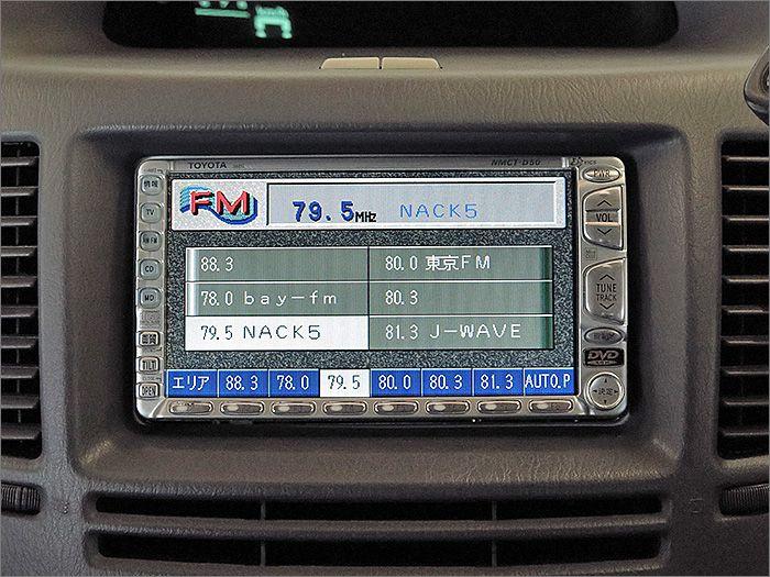 ナビロム読込不良です。CDとラジオは使用できます。