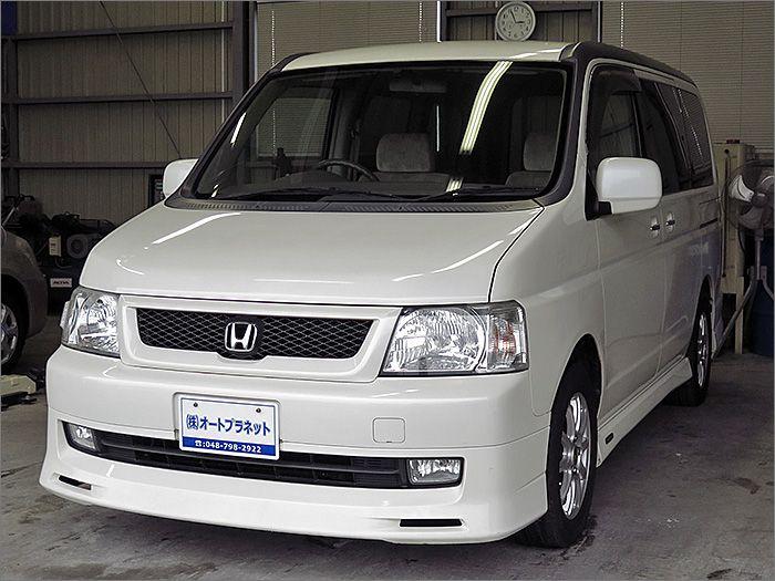 車両状態良好のステップワゴンです。装備は左側パワースライドドア、DVDナビ、CD、MD、ETC、キーレス、エアロ、アルミ、HIDライト付き。