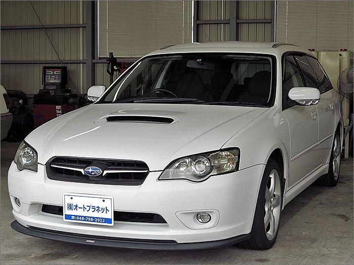 車両状態良好のレガシーツーリングワゴンです。装備はDVDナビ、CD、MD, キーレス、エアロ、アルミ、HIDライト付き。