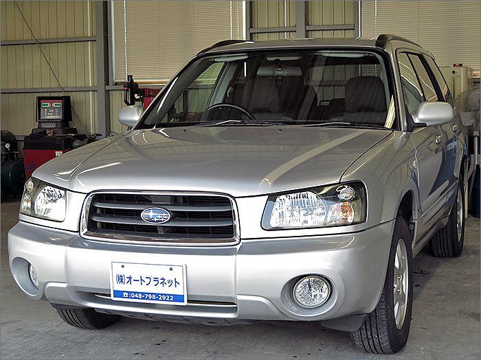 車両状態良好のフォレスター4WDです。装備はCD、アルミ、HIDライト、キーレス付き。
