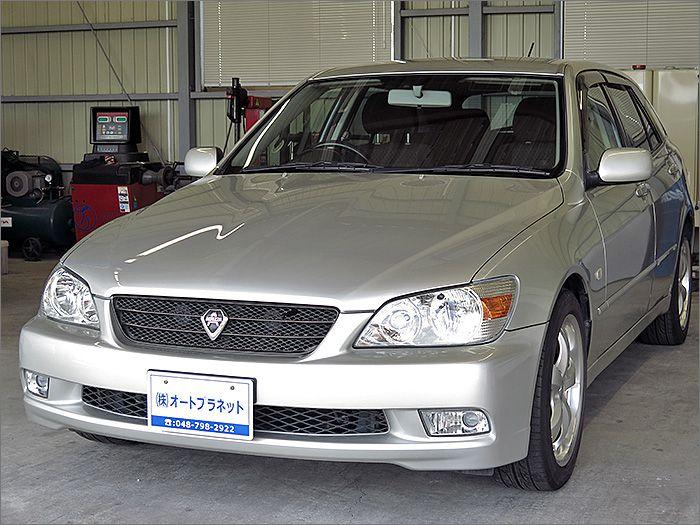 車両状態良好のアルテッツァジータです。装備はDVDナビ、CD、MD、ETC、キーレス、エアロ、アルミ、HIDライト付き。