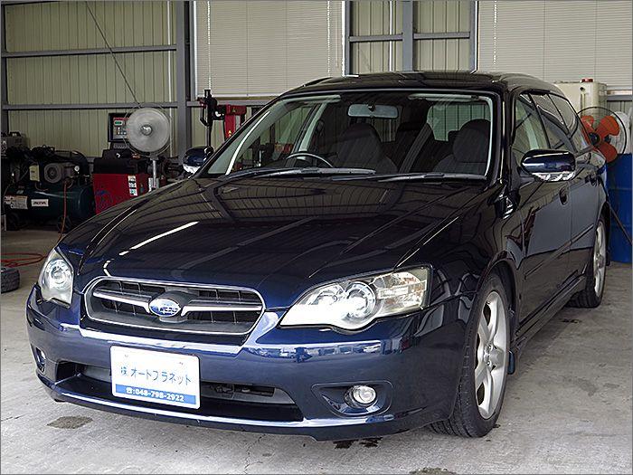 車両状態良好のレガシーツーリングワゴンです。装備はHDDDナビ、バックカメラ、DVD再生、CD、ETC、キーレス、アルミ、HIDライト付き。