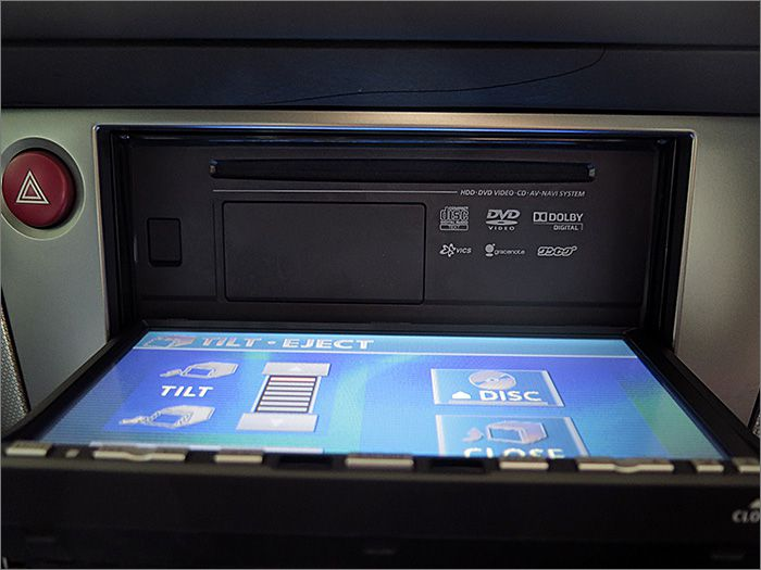 DVD、CD、ラジオ等が使用できます。