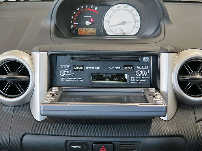CD、カセットテープ、ラジオが使用できます。