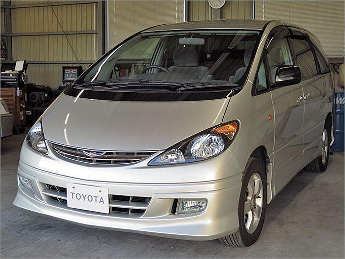 車両状態良好の4WDのエスティマです。装備はキーレス、エアロ、アルミ、HIDライト付き。