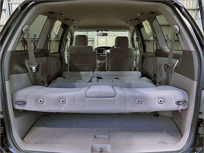 車内泊も楽しめます。