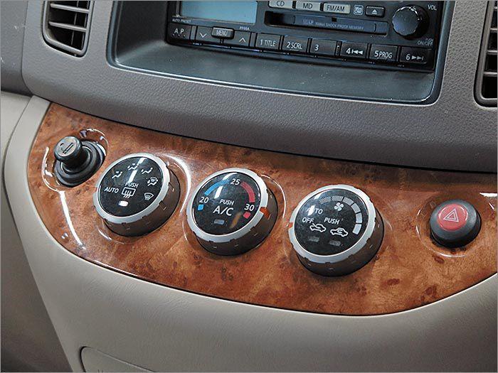 オートエアコン。室内の温度管理もできる優れものです!
