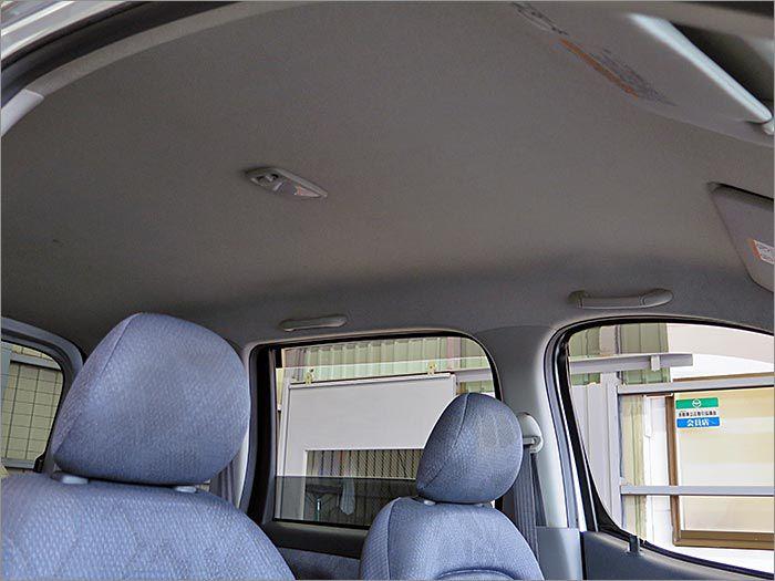 天井にも汚れは無くコンディションは良好です。